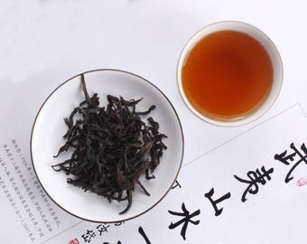 High Baking Da Hong Pao (Big Red Robe) Wuyi rock tea Dark oolong loose leaf tea 2oz