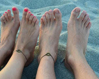 couple bracelets, couple bracelets his and her, couple anklets anniversary, friendship  Wedding Gifts for Couple, couples ankle bracelets