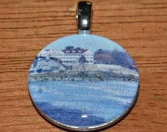 Necklace pendant of Kennebunk Beach