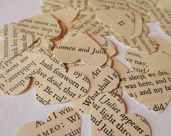 Romeo & Juliet Confetti | Paper Heart Confetti