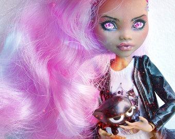 OOAK/Castom Doll Monster High Clawdeen Wolf