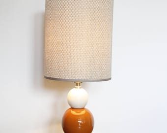 Retro Ceramic Table Lamp, Excellent Condition, Sold Without Shade.