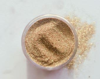 FINE GOLD BioGlitter - Fine Bio degradable Glitter - Festival Glitter - Eco Friendly - Gold Glitter - Cosmetic Grade - Eyes Lips Face