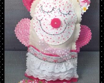 Fabric Rag Doll, Affirmation Doll