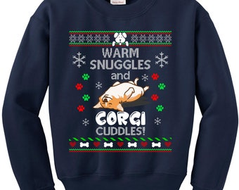 Ugly Christmas Sweater, Ugly Sweater Party, Corgi Dog Lover, Ugly Christmas Sweatshirt, Corgi Sweatshirt, Ugly Sweater , Christmas Jumper
