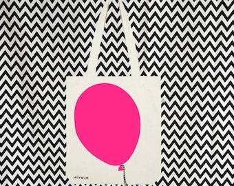 BALLOON bag NEON / / jute / / recycled / / bio / / fair trade / / balloon