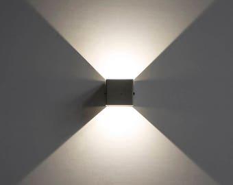 X - Modern Concrete Wall Lamp