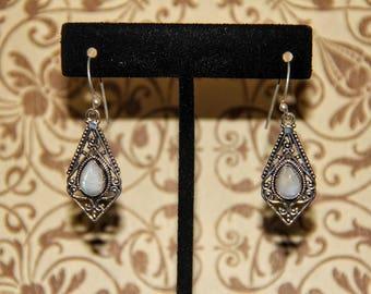 Triangle Twist Earrings