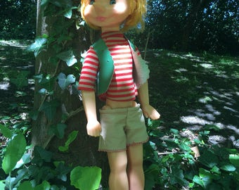 Collectible Pinocchio - Vintage Russian Toy - With Original Clothes - 1970s - Made in Russia/USSR