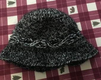 Women handmade knit hat