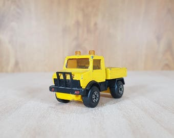 Matchbox - Matchbox car - Matchbox 1983s - MERCEDES UNIMOG - Collectible Car - Vintage Vehicles - Made in England.