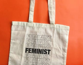 Katy Tote - I am a feminist tote - feminist - feminism - feminist product - feminist tote - feminist bag - woke - intersectional feminism