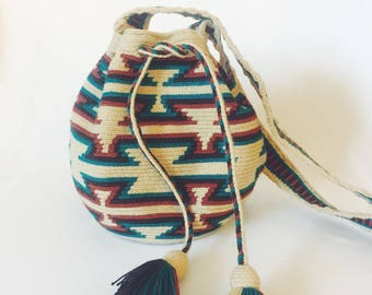 Guatemalan Drawstring Bucket Purse