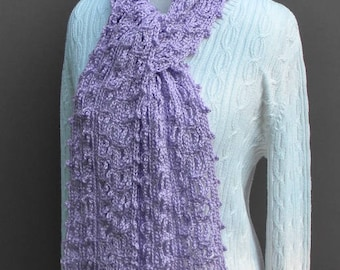 Crochet Women's Scarf, Fashion Scarf, Winter Scarf