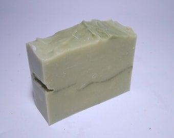 ALOE VERA w/  Ylang Ylang and Patchouli FACE and body soap