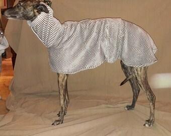 """Greyhound Fleece Cape """"coconut-fleece cloak"""""""