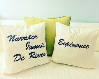 Custom Print Throw Pillow