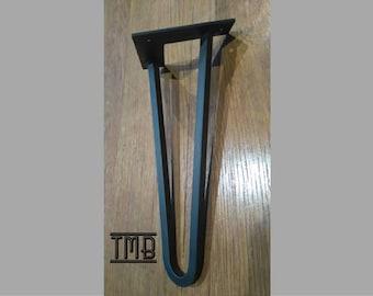 4 Hairpin legs / feet height 25cm square pins