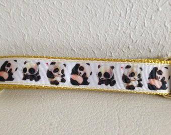 Adjustable Dog Leash, Panda Adjustable Dog Leash, Cute Panda Dog Leash, Panda Dog Leash