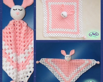 "Pink comforter ""Little bunny"""