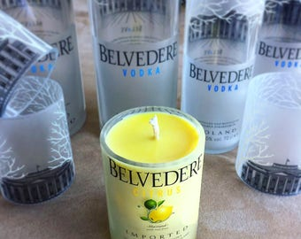 Grapefruit-scented Belvedere Citrus Candle