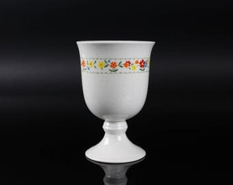 Nortaki Versatone Happy Talk Goblet Cup Made in Japan Vintage