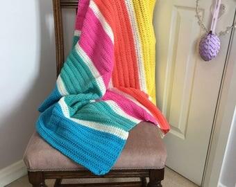 Rio - Handmade Crochet Blanket