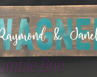 Handcrafted Wooden Love Signs