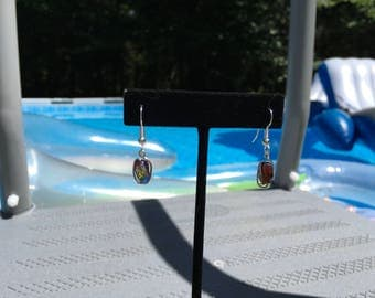 Petite Wire Wrapped Earrings