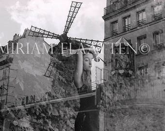 The Moulin Rouge, Fine art print, Film photography