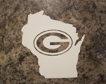 Green Bay Packers Wisconsin Vinyl Decal