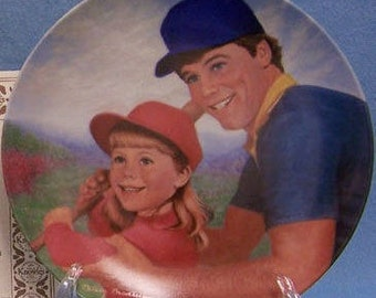 Collector Plate Batter Up 2nd Issue in A Father's Love Knowles 1984