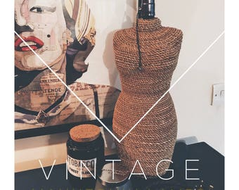 Vintage Style Mannequin Lamp
