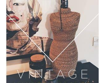 Vintage Style Mannequin Lamp