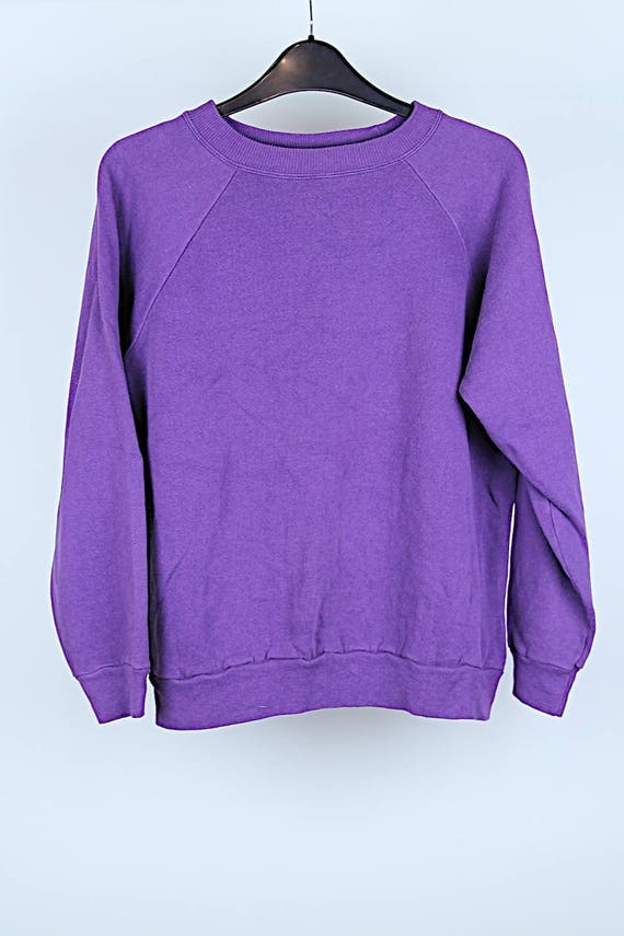 Vintage purple sweater S