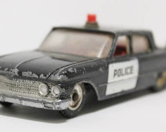 Dinky Toy 258 USA Ford Fairlane Police Car Diecast England 1/43 scale Model