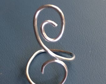 Adjustable Swirl Ring