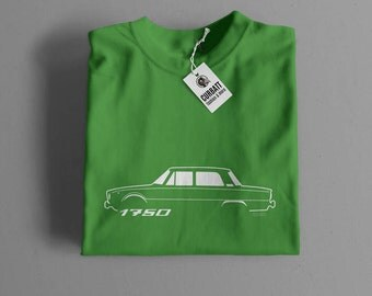 T-shirt Alfa Romeo 1750 | Gent, Lady and Kids | all the sizes | worldwide shipments | Car Auto Voiture