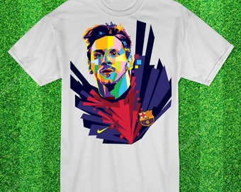Lionel Messi Wpap Football tshirt