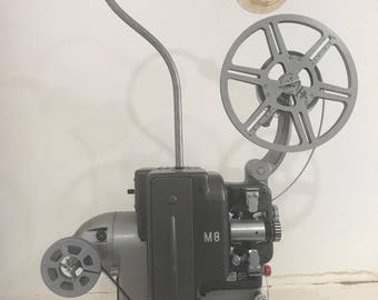 Upcycled Bolex M8 projector lamp
