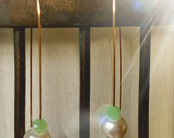 Jade, perles, pendants