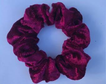 Red velvet scrunchy:)