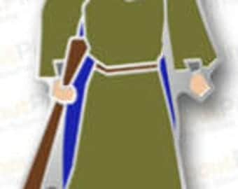 Runescape Wise Old Man Pin