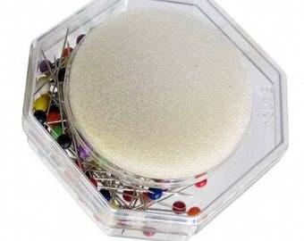 Pins dip color plastic box