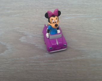 Minnie figurine collection or toy car