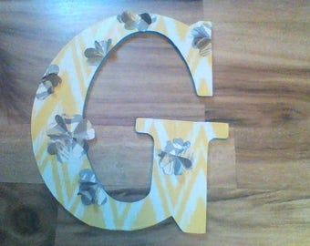 Wooden Letters! Any letter, Completely customizable!!!