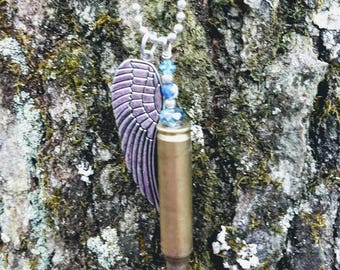 Upcycled Bullet with Quartz and Sodalite