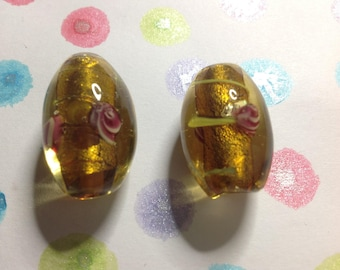 Murano Style glass beads