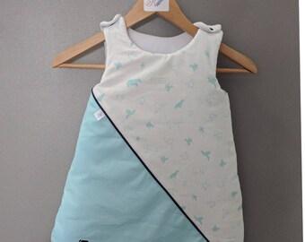 """Sleeping bag """"blue origami"""" sleeping bag"""