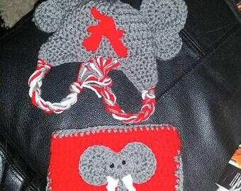 Alabama Newborn Hat and Diaper Cover